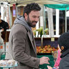 Ben Affleck With His Daughters at Brentwood Farmers Market