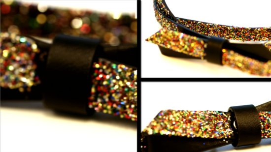 Get Glitzy With a Sparkly Bow Belt Inspired by Miu Miu