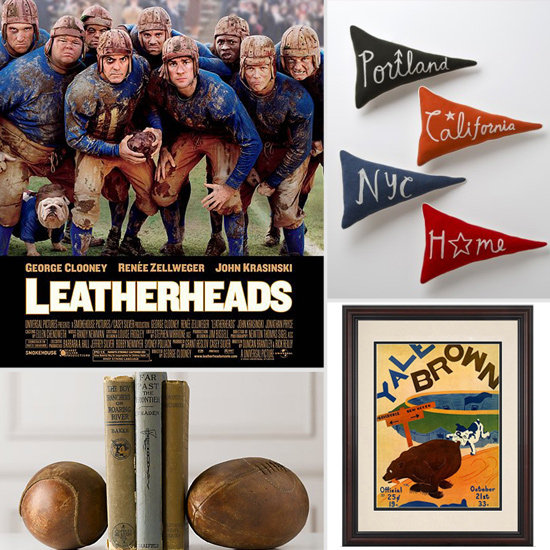 Touchdown-Worthy Finds For a Retro Football-Themed Room