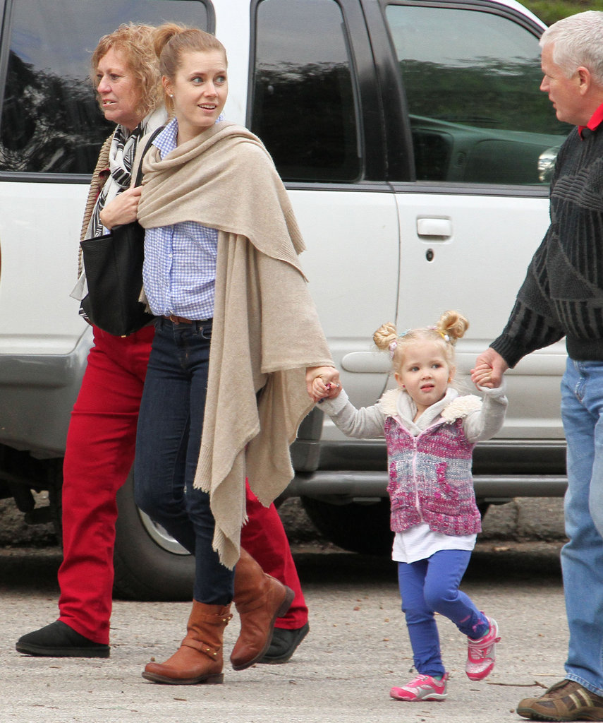 Amy Adams and Aviana Le Gallo checked out an LA park Saturday.