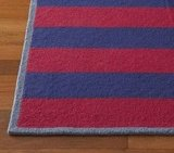 Pottery Barn Kids Rugby Stripe Rug