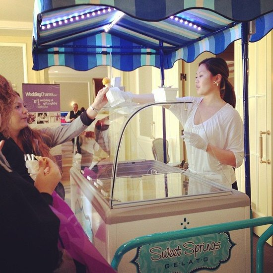 Give Your Dessert an Unconventional Twist With a Gelato Cart
