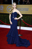 Amanda Seyfried's Zac Posen gown was all glam.