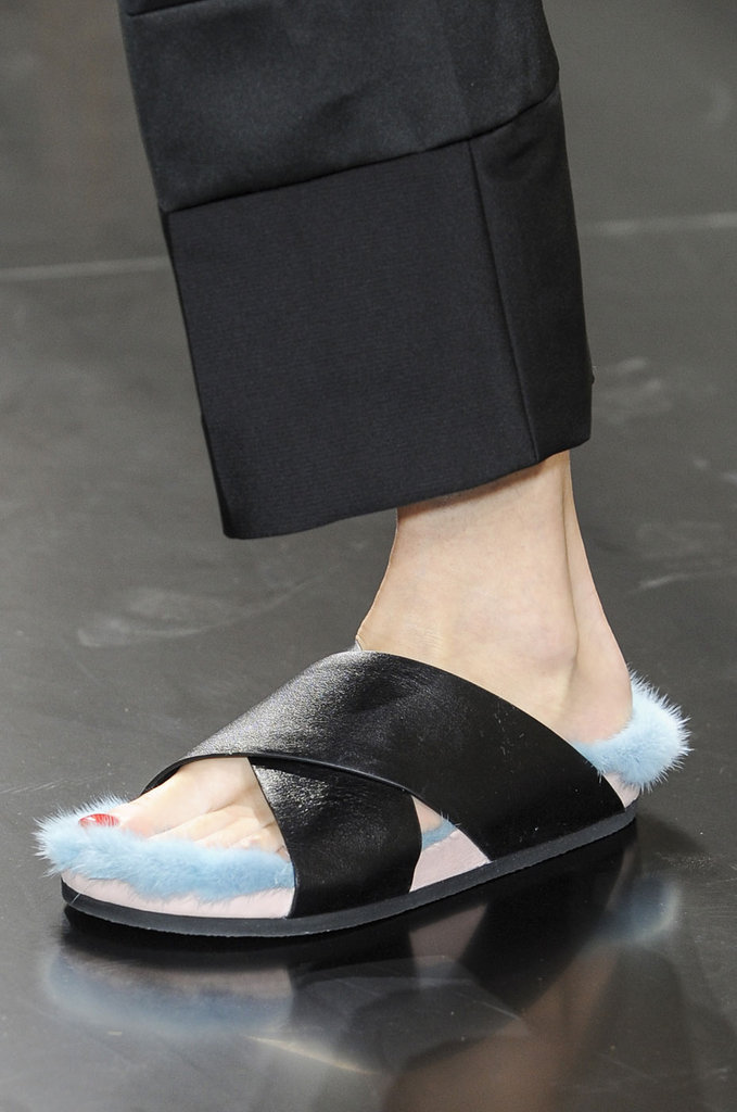 Céline Fur Shoes
