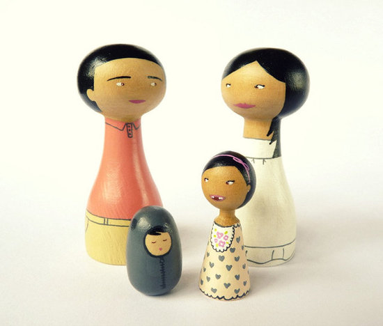 Zime Family Portrait Dolls