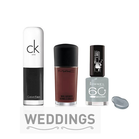 Bella Bridal Beauty Countdown: 5 Different Nail Colours to Consider