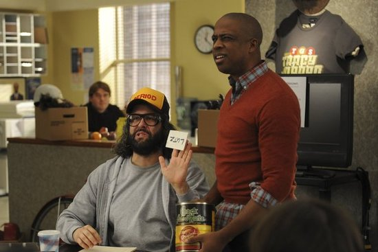 Judah Friedlander and Keith Powell on 30 Rock.