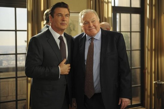 Alec Baldwin and Jim Downey on 30 Rock.