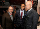 Rob Corddry talked with Cory Hardrict and John Malkovich at the afterparty.
