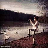 Coco Rocha imitated a swan. Source: Coco Rocha on WhoSay