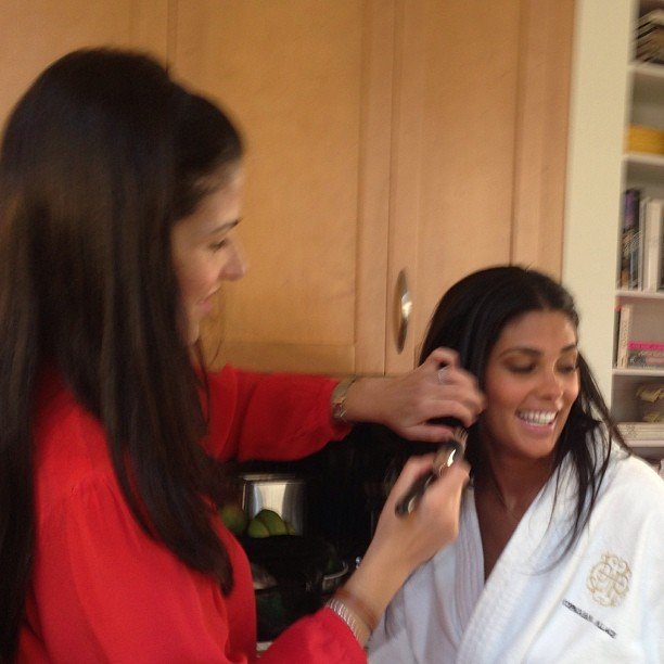 Rachel Roy got dolled up for a Vanity Fair photo shoot. Source: Instagram user rachel_roy