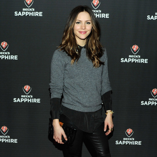 Katharine McPhee Wearing Leather Pants