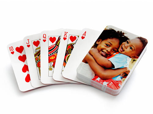 The card shark is sure to appreciate Shutterfly's personalized playing cards ($15, originally $20).