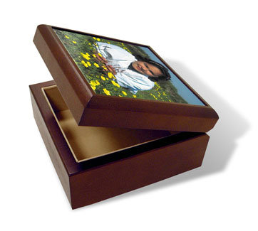 Fill Snapfish's keepsake box ($30) with a few mementos for a gift they'll cherish forever.