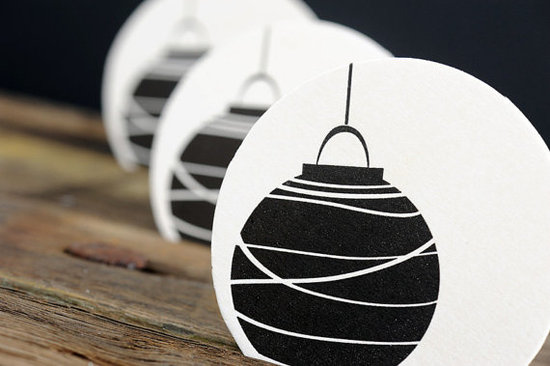 These coasters ($10) give traditional Chinese lanterns a modern twist.