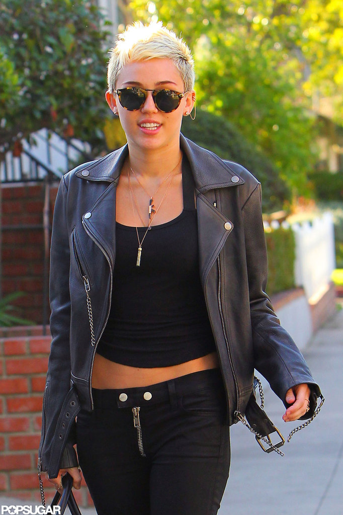 Miley Cyrus Returns to LA From Her Bikini-Filled Vacation