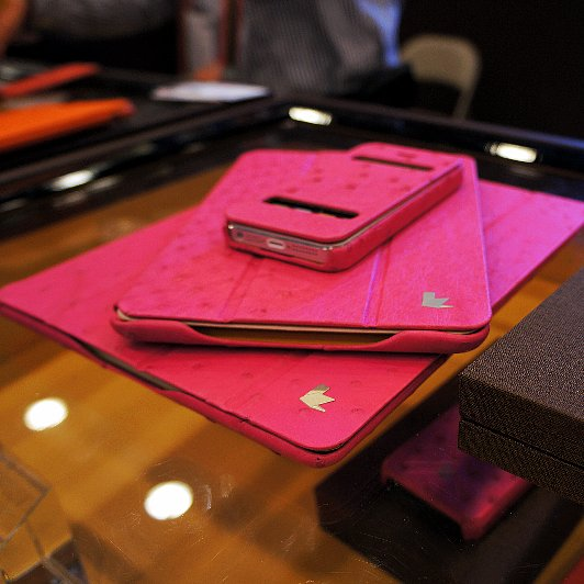 Luxury Leather Gadget Goodies Worth the Splurge