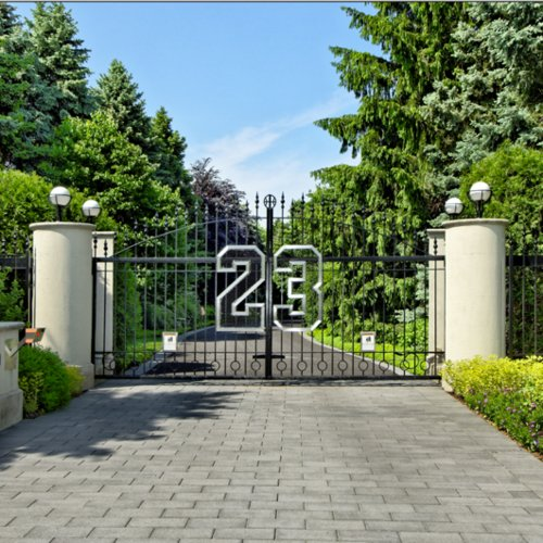 Michael Jordan's House Pictures
