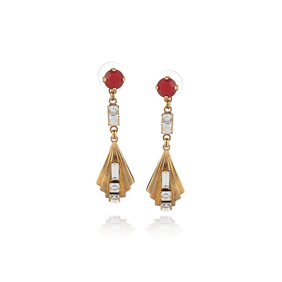 Earrings, approx. $138.89, Erickson Beamon at The Outnet