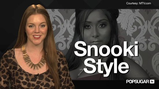 How to Be Snooki From Jersey Shore For Halloween