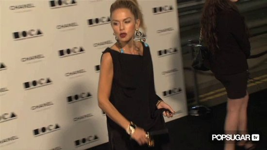 Rachel Zoe's Maybe Baby Bump at the MOCA Event!