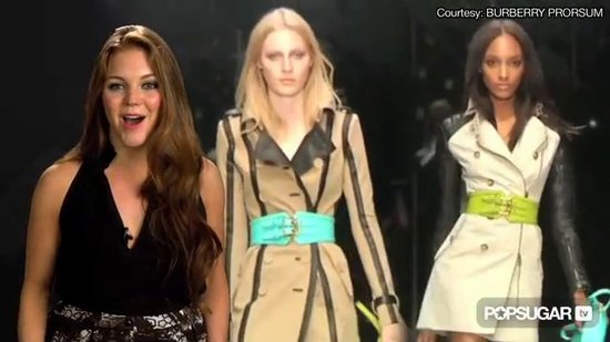 FabSugarTV: London Fashion Week Recap: Burberry Prorsum, Christopher Kane, & Giles!