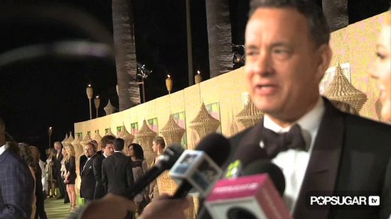 Video: Tom Hanks Praises Sandra Bullock & Leaves Her a Voicemail