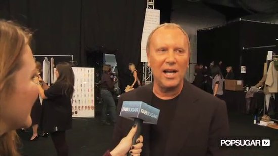 Michael Kors Spring 2011 New York Fashion Week - Behind the Scenes Interview