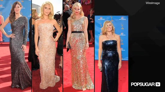 Celebrity Fashion Shines at 2010 Primetime Emmy Awards