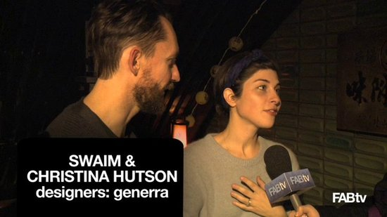 Interview with Generra Designers Swaim & Christina Hutson! What's Fab Fashion Week