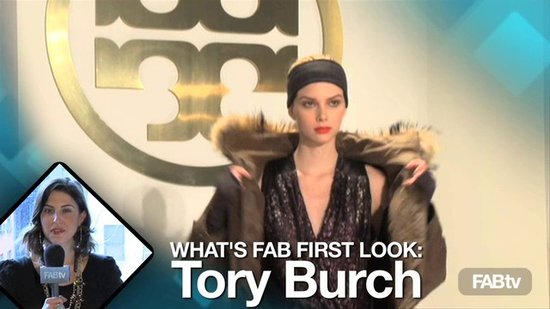 Tory Burch at New York Fashion Week: What's Fab First Look