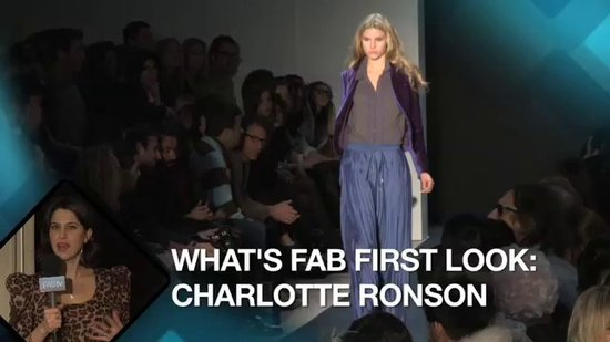 Charlotte Ronson New York Fashion Week: What's Fab First Look!