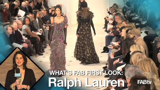 Ralph Lauren Fall 2010 Collection at NY Fashion Week: What's Fab First Look