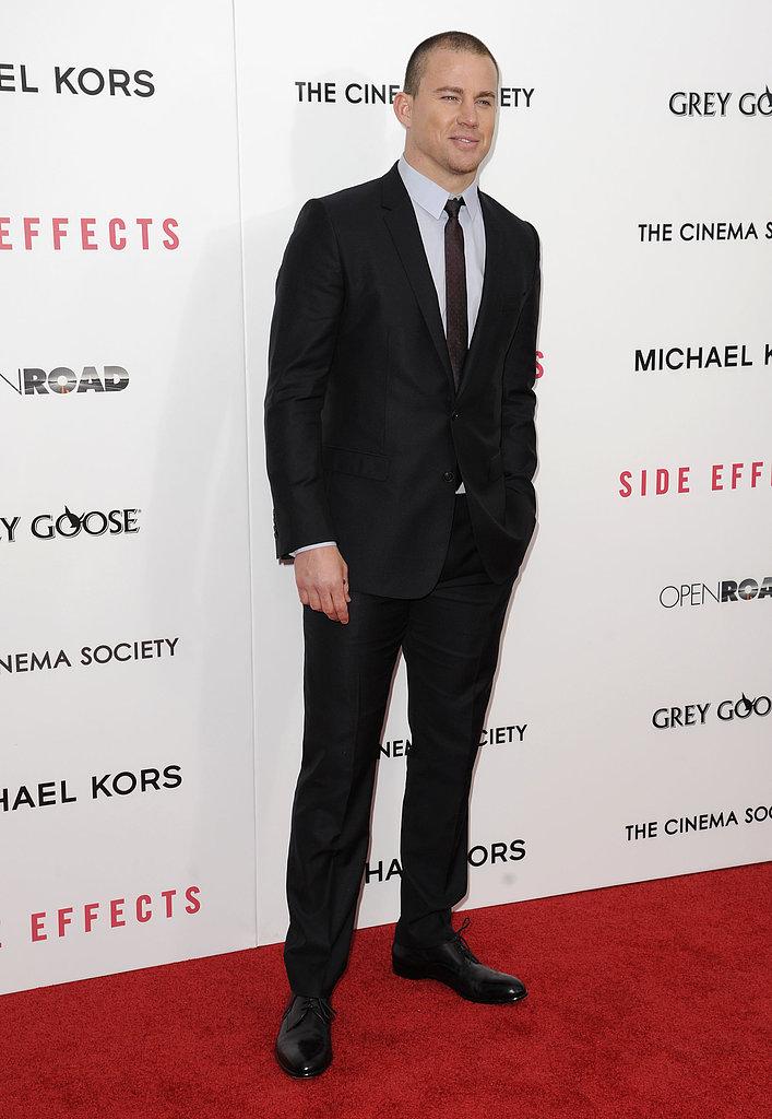 Channing Tatum wore Dolce & Gabbana.