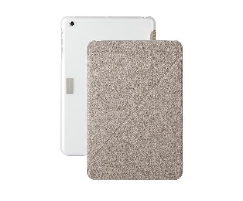 VersaCover Mini Velvet Gray With Translucent Back Cover ($50)