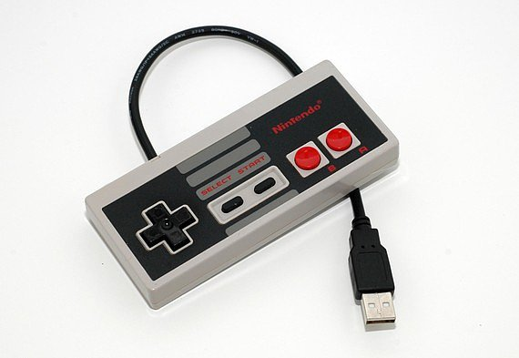 Store your data with a nod to the '90s on the Nintendo USB drive ($75).