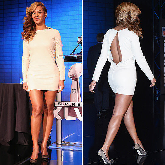Did you catch Beyoncé belting out the national anthem? Or perhaps most importantly, did you check out her amazing Olcay Gulsen dress?