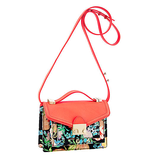 Tucker's newly released collaboration with Loeffler Randall means the Rider bag ($395) is getting a floral-print makeover that feels decidedly '90s-esque.