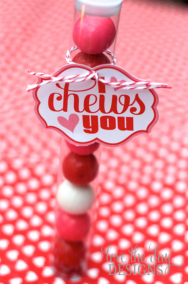 "I ""Chews"" You Valentine"