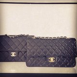 The Chanel 2.55 quilted. An icon if there ever was one.
