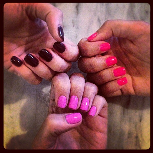 We hit The Parlour Room in Clovelly for a mani/pedi, and this was the result! Which colour do you like best?