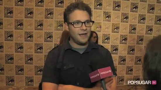 Seth Rogen Talks Comic-Con Shopping & The Green Hornet
