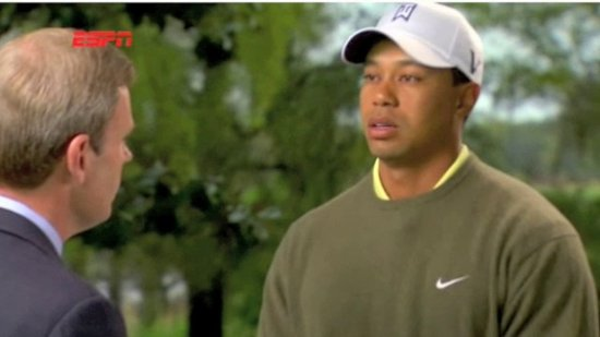 Tiger Woods Interview