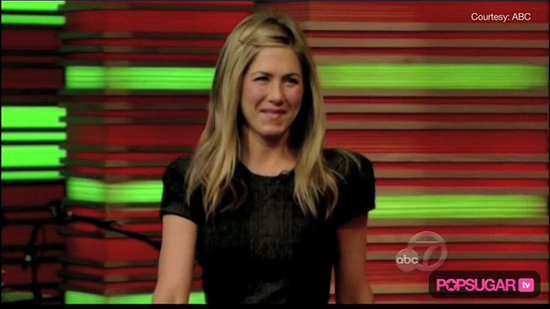 Video: Jennifer Aniston's Sexy Slit & Cougar Town Plans
