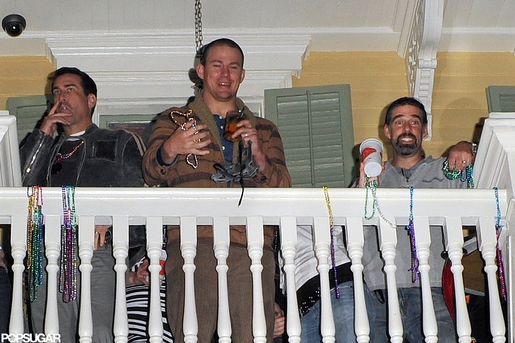 Channing Tatum celebrated at his bar in New Orleans on Friday night.