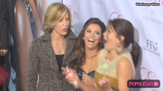 Video: Eva Launches Fragrance With the Housewives