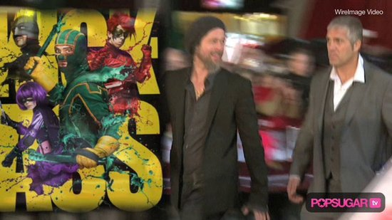 Video: Brad Pitt's Night Out in London