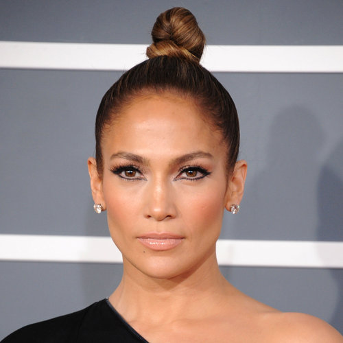 Jennifer Lopez | Grammys 2013 Hair and Makeup