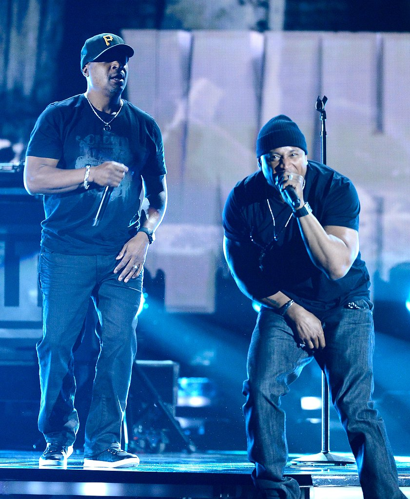 Chuck D and LL Cool J