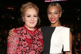 Adele and Beyoncé